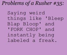 Rusher Problems