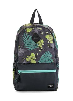 Atom Pack by Billabong. Pack your stuff in style. Blillabong featuring Atom Pack, a backpack with a combination of motifs and colors are eye- catchy. Perfect for daily use.  http://www.zocko.com/z/JJxqz