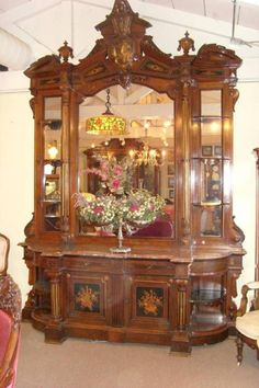Massive Victorian Sideboard