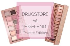 compare, swatch and review -- Maybelline Blushed Nudes Palette vs. Urban Decay Naked 3 Palette Skincare Dupes, Beauty Dupes, Beauty Makeup Tips, Makeup Dupes, Urban Decay Eyeshadow Palette, Nude Eyeshadow, Eye Palette, Maybelline Blushed Nudes, The Blushed Nudes