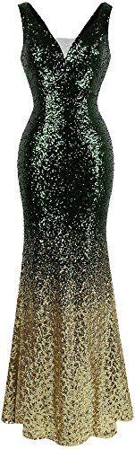 Angel-fashions Women's V Neck Glitter Sequin Gatsby Flapper Evening Dress (S, Green Gold) Lavender Prom Dresses, Turquoise Prom Dresses, Short Red Prom Dresses, Orange Prom Dresses, Floral Prom Dresses, Prom Dresses Two Piece, Strapless Prom Dresses, Plus Size Prom Dresses, Prom Dresses Australia