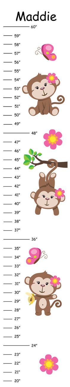Monkey growth chart