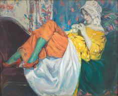 Ulisse Caputo (Italian, 1872-1948) Intimité