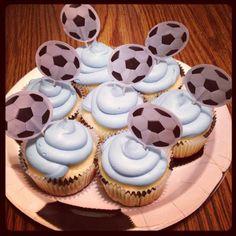 Blue Hell cupcakes! (via mindybadgley on Instagram)