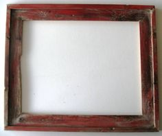 2.5 Inch Red Distressed Barnwood Moulding Select Size Or Made To Order Free…