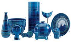 Bitossi | Ceramics in Rimini Blu | design by Aldo Londi