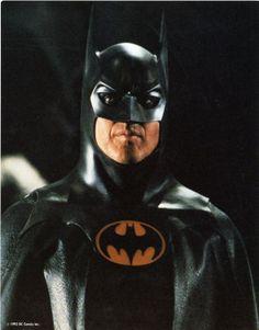 "Michael Keaton in ""Batman (AKA Tim Burton's Batman)"" (1989)."