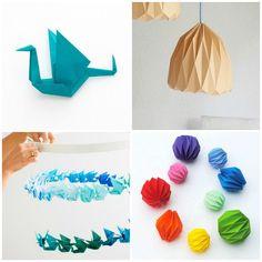 Joli, écolo et pas cher, l'origami facile à réaliser est utilisé pour la fabrication d'objets de déco. Voici 3 tutoriels d'origami facile à faire soi-même.