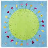 Found it at Wayfair - Planet Of Flowers Kids Rug