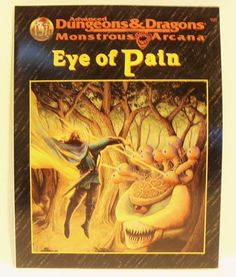 Eye of Pain Advanced Dungeons & Dragons Module 8.5 out of 10. Inside Near Mint!
