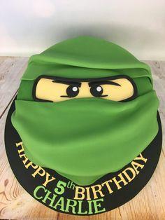 Beautiful Photo of Ninjago Birthday Cake . Fifth Birthday Cake, Ninja Birthday Cake, Ninja Cake, Ninja Birthday Parties, Novelty Birthday Cakes, Lego Parties, Bolo Ninjago, Bolo Lego, Lego Ninjago Cake