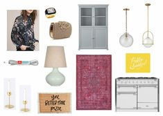 Monday Mix // 45 - this weeks fashion and home pics plus a little sneak peek at some of our kitchen renovation choices :)