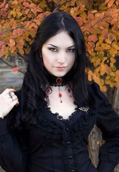 goth girl with choker - Google Search