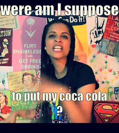 IISuperwomanII!! FELLOW FANGIRLS! YOU MUST BECOME A UNICORN BY CHECKING OUT THIS AWESOME YOUTUBER AND SUBBING TO HER!