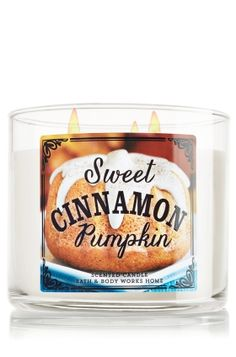 Candle Sweet Cinnamon Pumpkin from Bath & Body Works. Saved to Candles. Shop more products from Bath & Body Works on Wanelo. Bath Candles, 3 Wick Candles, Home Candles, Scented Candles, Bath N Body Works, Bath And Body Works Perfume, Home Scents, Home Fragrances, Fall Scents