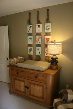all boy nursery changing table