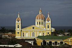 Cathedral of Granada Nicaragua  Hostal El Momento