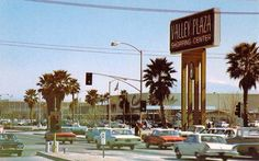 Valley Plaza when it first opened Bakersfield ,CA