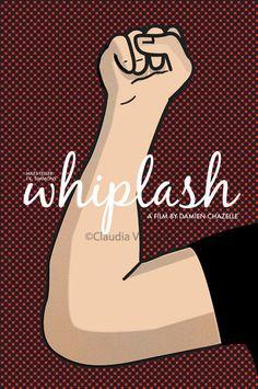 Whiplash (2014) ~ Minimal Movie Poster by Claudia Varosio #amusementphile