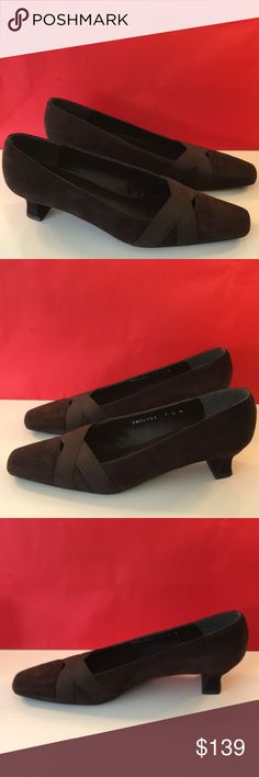 ❤️STUART WEITZMAN LOW HEELS 💯AUTHENTIC ❤️STUART WEITZMAN LOW HEELS 💯AUTHENTIC ! STUNNING AND STYLISH ALWAYS ON TREND! TRUE HIGH END LUXURY! SO PRETTY IN DARK BROWN SUEDE! ONLY WORN A FEW TIMES! THE SIZE IS 7.5. THE HEEL HEIGHT IS 1.5 INCHES. JUST LOVELY! Stuart Weitzman Shoes Heels