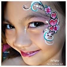 facepaint for boys, valentine - Google Search