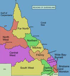 Regions of Queensland