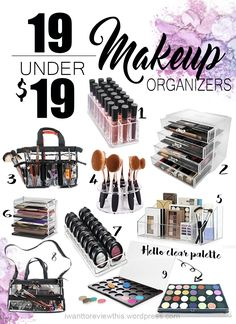 The New Year is almost here and it's about that time to start getting organized. I've been organizing my makeup vanity area that was within a reasonable budget. I've been looking …