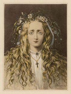 Ophelia eyes of artists