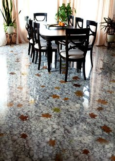 ie floor design is one of the most spectacular and exciting modern interior trends. Modern flooring ideas and materials used for polymer floors are eco … Epoxy Resin Flooring, 3d Flooring, Modern Flooring, Epoxy Floor, Flooring Ideas, 3d Floor Art, Floor Murals, Modern Interior, Home Interior Design