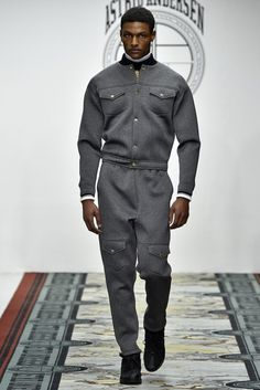 Tracksuits (Astrid Andersen) Londres Masculino - Inverno 2016 foto: FOTOSITE