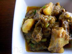 Guyanese Goat Curry