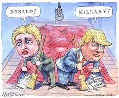 Matt Wuerker/POLITICO May 2016
