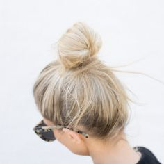 Top knot game on point.