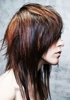 long shag 70's hair   ... people also looked stylish. I saw a fabulous updated shag hair cut