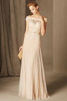 A-Line/Princess Off-the-shoulder Floor-length Tulle Mother of the Bride Dress
