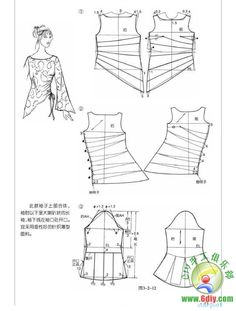 Amazing Sewing Patterns Clone Your Clothes Ideas. Enchanting Sewing Patterns Clone Your Clothes Ideas. Blouse Patterns, Clothing Patterns, Sewing Patterns, Sewing Tutorials, Sewing Hacks, Sewing Blouses, Make Your Own Clothes, Dress Making Patterns, Diy Couture