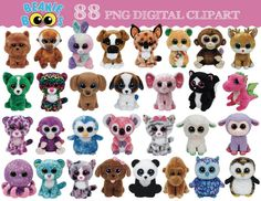 This listing is for 88 Boo clipart as displayed above.  WHAT YOULL GET 88 cliparts ~ PNG format (TRANSPARENT BACKGROUND) INSTANT DOWNLOAD 1 zipped file containing 88 cliparts will be available for download after purchase. Once the zipped files are downloaded, you need to unzip it to extract