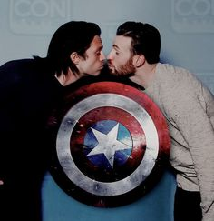 I ship them. I shipped cap and Peggy too. I also shipped black widow and winter soldier. I just want these two to be happy I don't care what gender their mate is that they end up with.