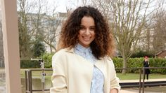 5 Reasons why we love Kangana Ranaut. #2: Her love affair with Burberry. Seen here at the Burberry Fall 2014 shows, wearing Burberry. #bollywood