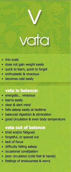 vata dosha in and out of balance #ayurveda #vpk #MaharishiAyurveda