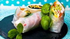 Myke, vårlige ruller Fresh Rolls, Ethnic Recipes, Food, Meal, Essen, Hoods, Meals, Eten