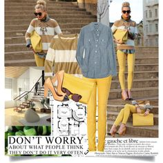 I have ALL these pieces in my closet! I will be rocking this look! Animal-print pumps instead!