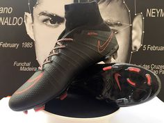 Order Nike Mercurial Superfly FG Soccer Cleats Black Red