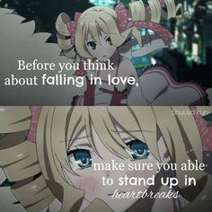 No,remember that be sure that he will catch you when your about to break Sad Anime Quotes, Emo Quotes, Manga Quotes, Life Truth Quotes, True Quotes, Tokyo Ravens, Anime People, Anime Life, Life Lessons