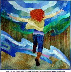 Leap by Caryl Bryer Fallert