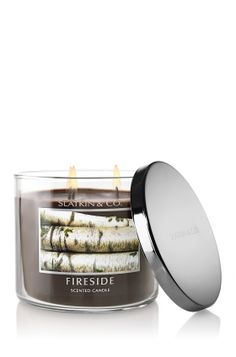 Fireside Candle $19.50 - My favorite candle fragrance EVER...smells like a sexy man!