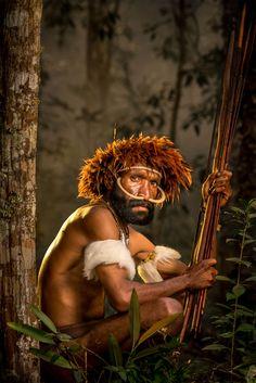Хората Дани от Западна Нова Гвинея