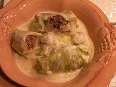 "Stuffed Cabbage Rolls ""Lahano Dolmathes"""