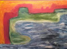 Landschaft abstrakt