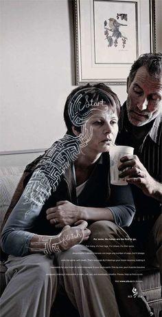 ALS healthcare creative and brilliant advert campaign